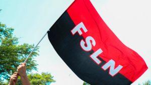 Bandera del Frente Sandinista de Liberación Nacional (FSLN)