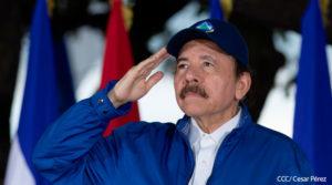 Comandante Daniel Ortega Presidente de la República de Nicaragua