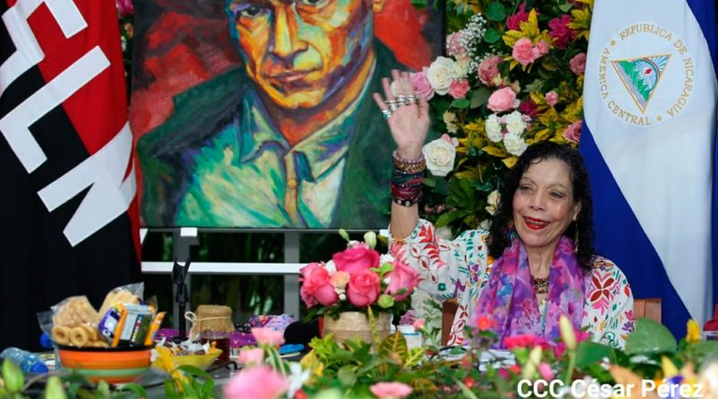 Compañera Rosario Murillo, Vicepresidenta de Nicaragua