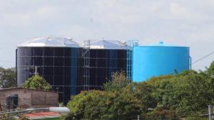Tanques de agua construidos y rehabilitados en Catarina