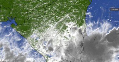 Caribe nicaragüenses bajo la influencia de un sistema de baja presión