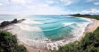 Vista de una de las playas de Rivas, uno de los polos de alto potencial de desarrollo turístico