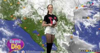 Clima en Nicaragua: Este viernes ambiente soleado y lluvias por la tarde
