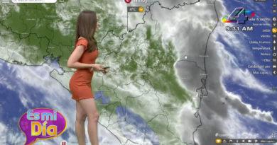 Este martes Lizandra Herrera brindó el reporte del clima en Nicaragua.