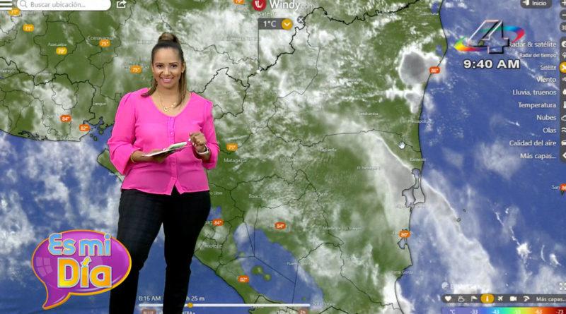 Este miércoles las lluvias continuarán en toda Nicaragua