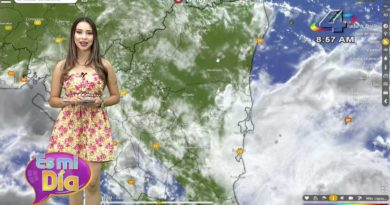 Idis Rodríguez en el programa Es Mi Día brindó el reporte del clima en Nicaragua