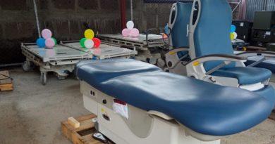Fundación Cristiana Samaria dona equipos de salud al SILAIS Chontales