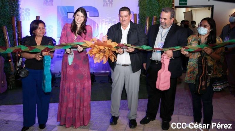 Inauguración de la primera edición de la Plataforma Es Arte en Estelí
