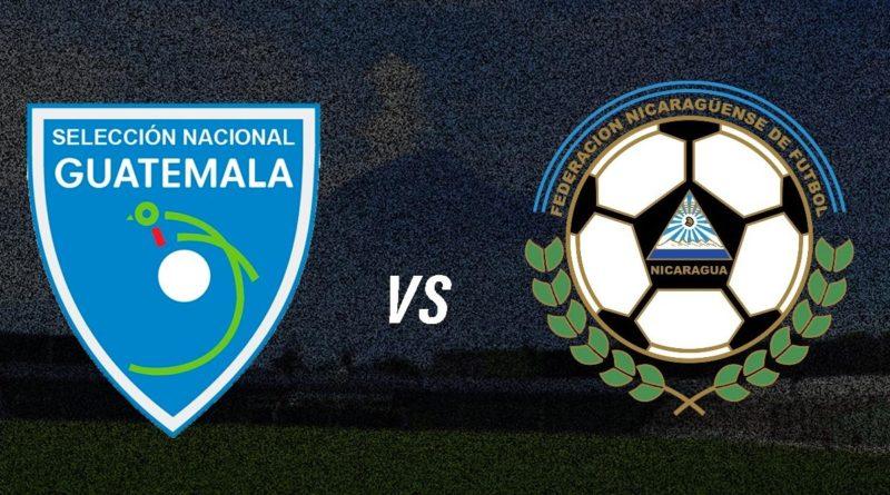 Selección Nicaragüense de Futbol jugará ante Guatemala en próxima fecha FIFA