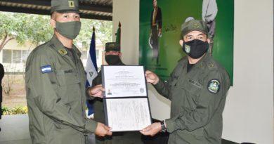 """Ejército de Nicaragua realiza graduación en Centro Internacional de Desminado Humanitario """"Amistad Nicaragua-Rusia"""""""