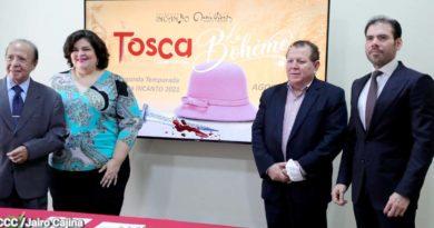 Laureano Ortega junto a representantes de INCANTO y el Teatro Nacional Rubén Darío, anunciaron la segunda temporada lírica INCANTO 2021
