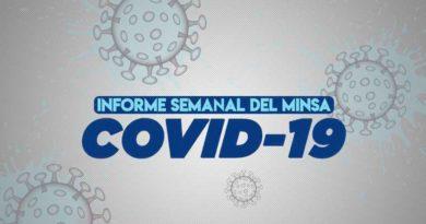Informe Semanal del MINSA, situación del coronavirus al 31 de agosto del 2021