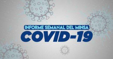 Informe Semanal del MINSA, situación del coronavirus al 10 de agosto del 2021