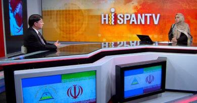 Canciller de Nicaragua, Denis Moncada entrevista con HispanTV