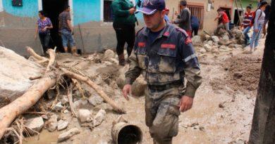 Inundaciones causadas por las lluvias en territorio venezolano