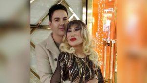 Lyn May junto a su pareja Markos