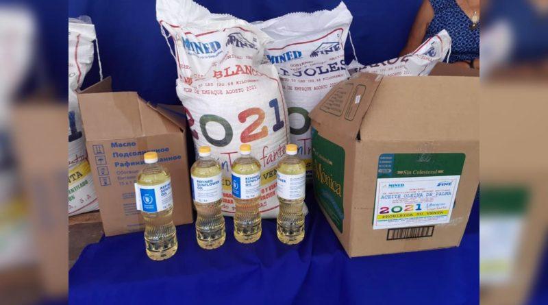 MINED realiza tercera entrega de Merienda Escolar en Matagalpa