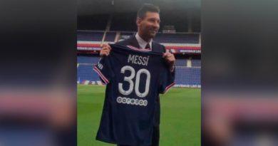 Leo Messi es oficialmente presentado por el PSG