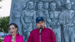 Comandante Presidente Daniel Ortega y Vicepresidenta de Nicaragua Compañera Rosario Murillo