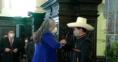Presidente del Perú recibe el saludo del pueblo y el gobierno de Nicaragua