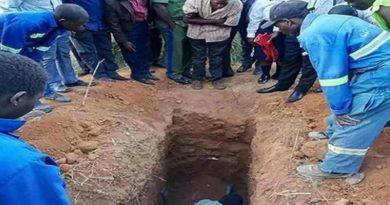 Quiso ser como Jesús, se enterró vivo pero no resucitó