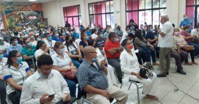 Exposición del Plan de Lucha contra la Pobreza y el Desarrollo Humano 2021 – 2026 en Juigalpa