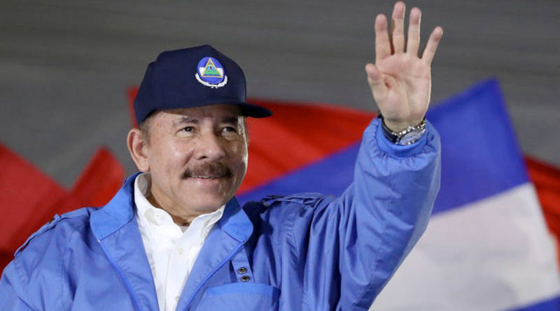 Presidente de la República de Nicaragua Comandante Daniel Ortega