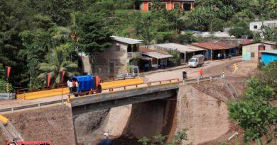 Uno de los puentes construidos por el Gobierno Sandinista