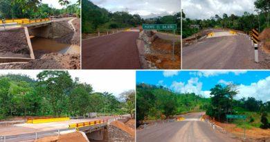 puentes entre Matagalpa y El Triángulo Minero