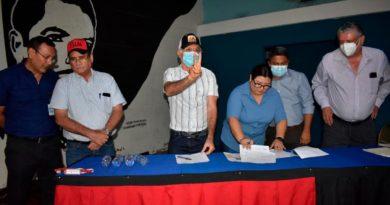 Entregan sitio para proyecto de agua potable en León