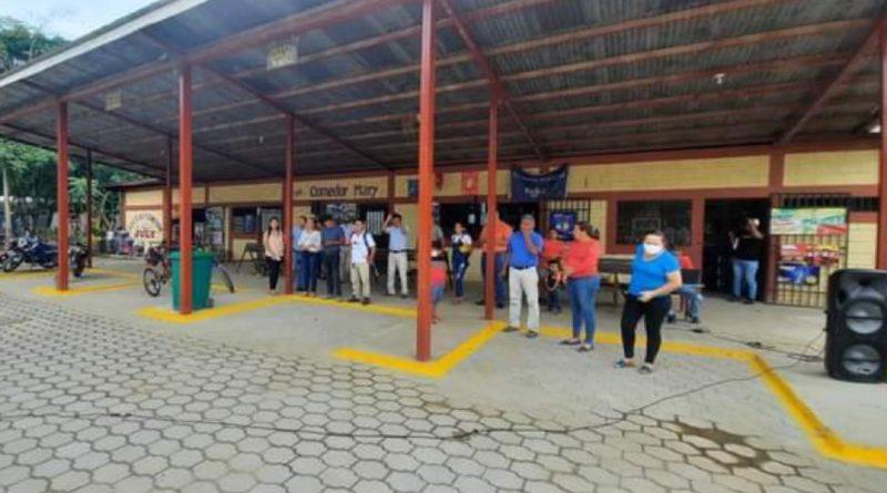 Terminal de buses en Quilalí