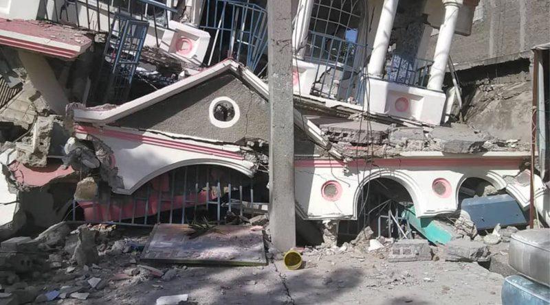 Destrucción causada por terremoto en Haití