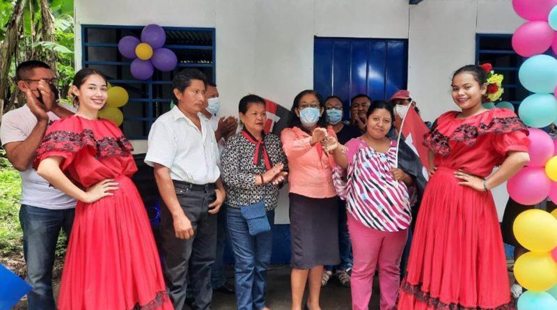 ALMA y Taiwán entregaron viviendas a familias de La Concepción, Masaya
