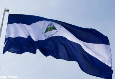 Foto Multinoticias / Bandera de Nicaragua