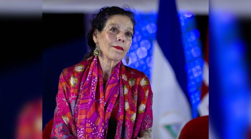 Declaraciones de Rosario Vicepresidenta de Nicaragua después del Acto Central del 42 Aniversario de la Policía Nacional