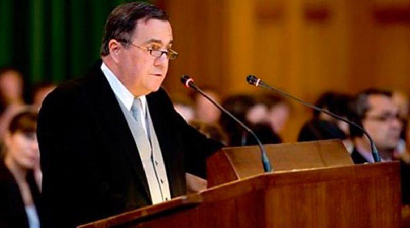 Doctor Carlos Argüello, representante de Nicaragua ante la CIJ en el caso contra Colombia