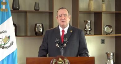 Alejandro Giammattei Presidente de la República de Guatemala