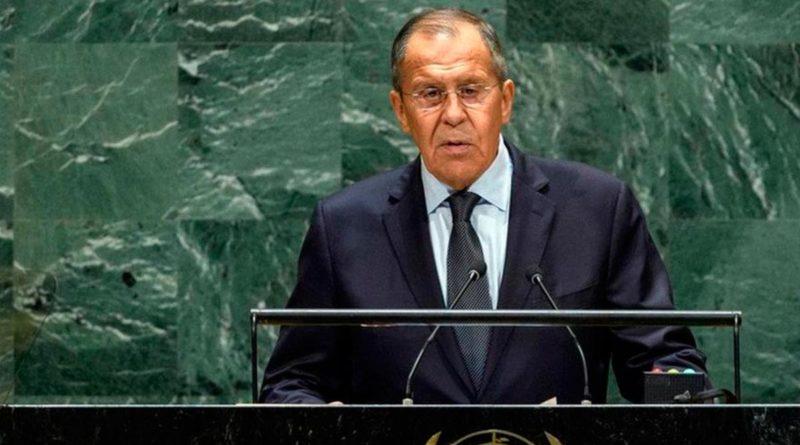 Ministro de Relaciones Exteriores de Rusia, Serguéi Lavrov