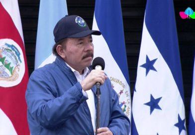Comandante Daniel Ortega y Compañera Rosario Murillo presiden acto central en honor al Bicentenario de Centroamérica