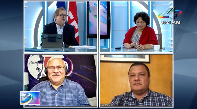 Tirsa Sáenz, Adolfo Pastrán y Eliezer Mora en la Revista en Vivo, martes 7 de septiembre de 2021