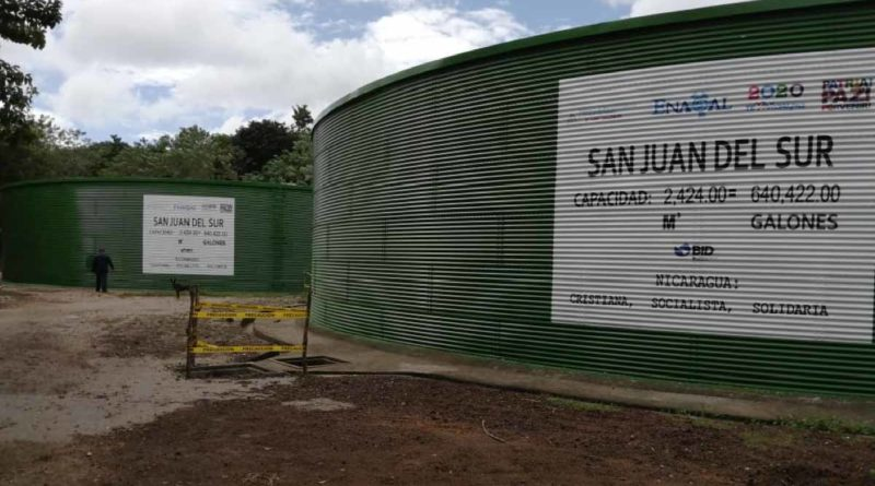 Rehabilitación de tanques de almacenamiento en San Juan del Sur