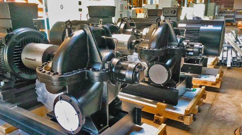 ENACAL incorpora 5 Bombas de alta capacidad para mejorar el servicio a la población