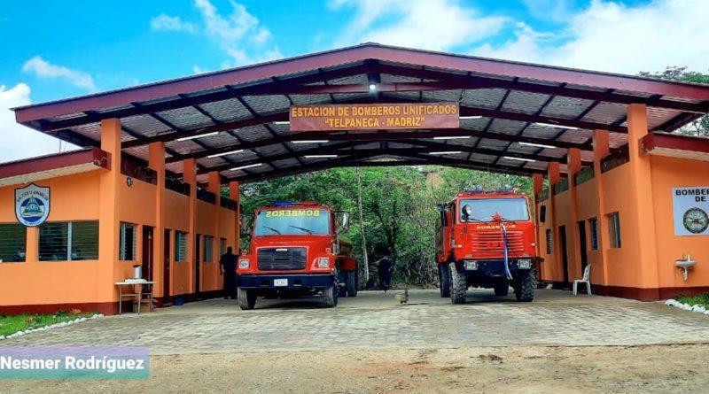Nueva estación de bomberos en Telpaneca, departamento de Madriz