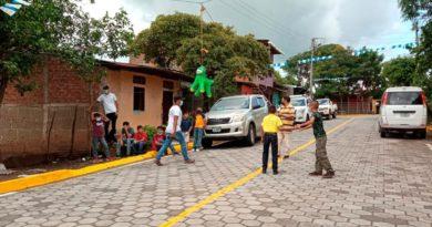 Familias de Juigalpa inauguran calles dignas y seguras