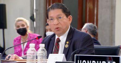 Canciller de Nicaragua, Compañero Denis Moncada en la VI Reunión de Jefes de Estado y de Gobierno de la Comunidad de Estados Latinoamericanos y Caribeños (CELAC).