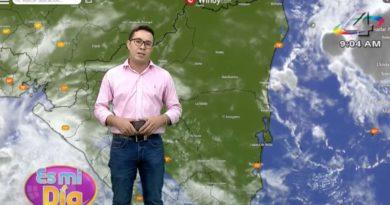 Yunior Cuadra en el programa Es Mi Día brindó el reporte del clima en Nicaragua