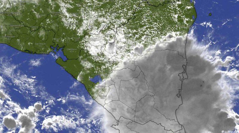 Foto satelital de Nicaragua