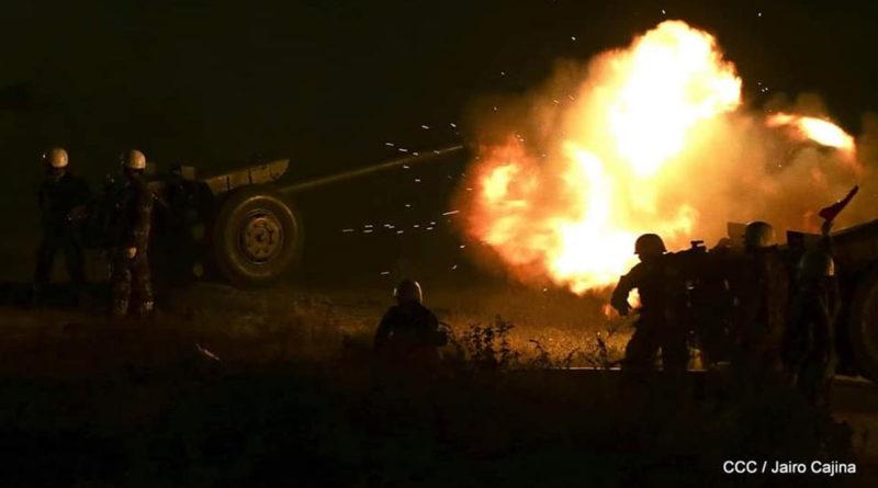 Ejército de Nicaragua realizará ejercicio de tiro con armas de infantería