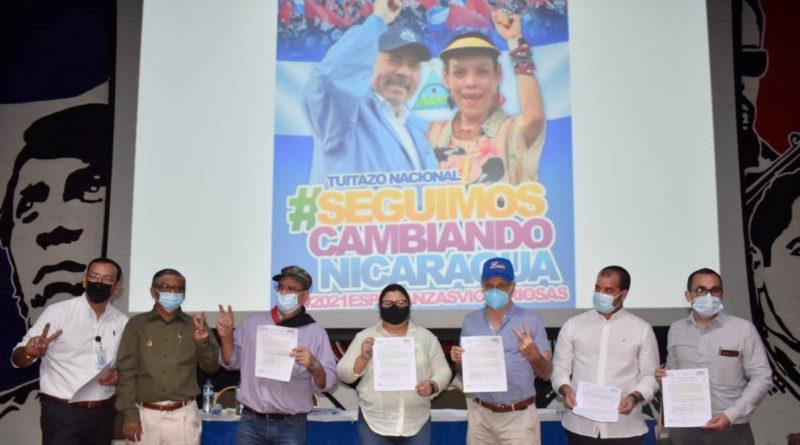 Firma de la ejecución del contrato de las obras de de alcantarillado sanitario en León