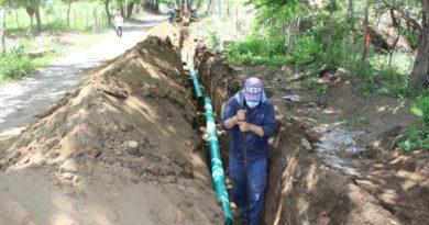ENACAL inaugura proyecto de agua potable en sector de Veracruz, Managua